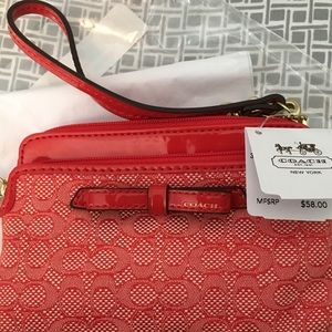NWT Coach Wallet Wristlet Still In Protective Bag